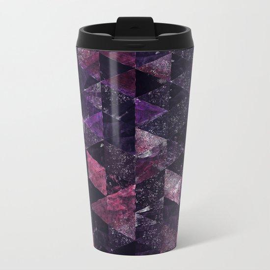Abstract Geometric Background #13 Metal Travel Mug