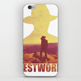 West edi iPhone Skin