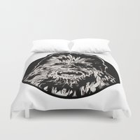 chewbacca Duvet Covers featuring Chewbacca by LaurenNoakes