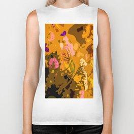 Autumn bouquet wildflowers #decor #society6 Biker Tank