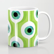 Eye Pod Green Coffee Mug