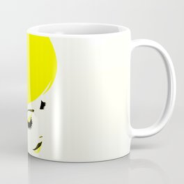 girl hair Coffee Mug