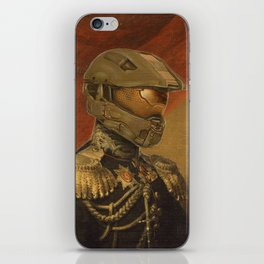 Halo Master Chief Spartan 117 Class Photo General Painting Fan Art iPhone Skin