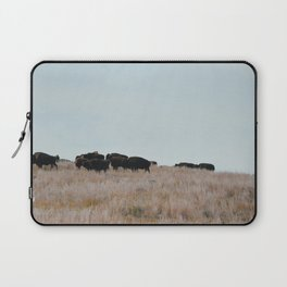 Prairie Bison Laptop Sleeve