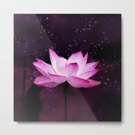 magical lotus Metal Print
