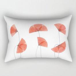 Flanders poppy, corn poppy, flower Rectangular Pillow