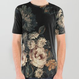 Midnight Garden XIV All Over Graphic Tee