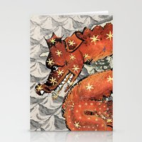 carpe diem Stationery Cards featuring Carpe Diem by anipani