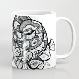 Python and iris flowers Coffee Mug