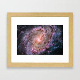 Spiral Galaxy M83 Framed Art Print