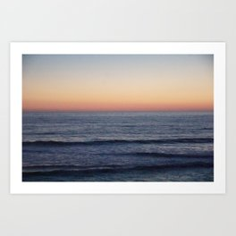 Sunset Beach Photo Art Print