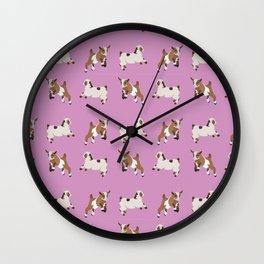 Baesic Prancing Goats Wall Clock