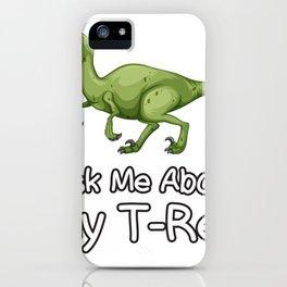 Types Of Dinosaurs - Dinosaur Boys Girls iPhone Case