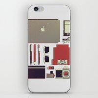 8bit iPhone & iPod Skins featuring 8Bit Handbag by Thecansone