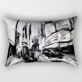 The Musician Rectangular Pillow