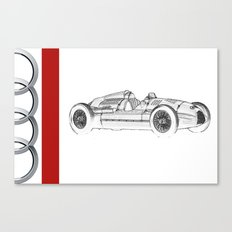 RennSport Speed Series: The Four Rings Canvas Print
