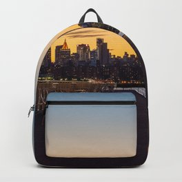 Sunset in New York City (Color) Backpack