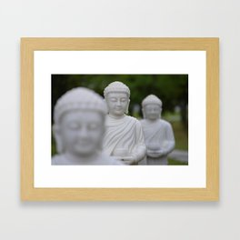 BUDDHAS Framed Art Print