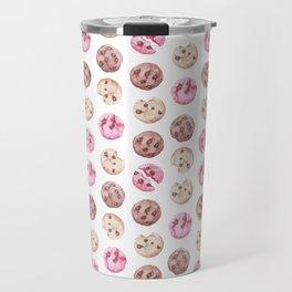 Cookie pattern Travel Mug