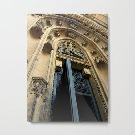 Cathedral Door Metal Print