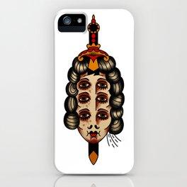 Queen of daggers iPhone Case