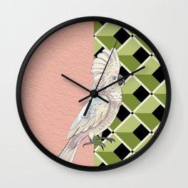 Cockatoo Vibes Wall Clock
