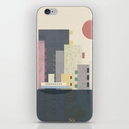 City on Earth iPhone Skin