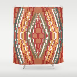 Escalation Shower Curtain