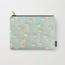 Willie and Ollie Pattern Carry-All Pouch
