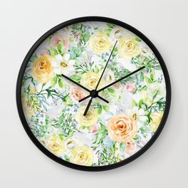 Bloom Strong Wall Clock