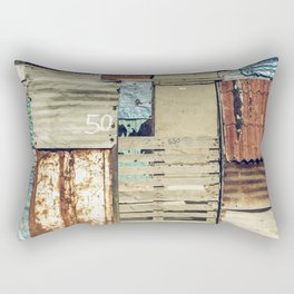 arquitectura de crisis Rectangular Pillow