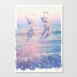 Elementalists under the Sunset Canvas Print