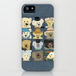 Teddy Bears iPhone Case