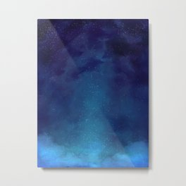 Galaxy Painting Metal Print
