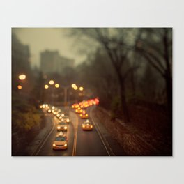 Taxicab Confessions - New York Canvas Print