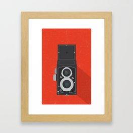Classic TLR camera Framed Art Print