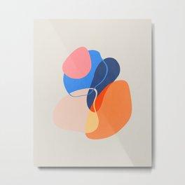 Modern minimal forms 38 Metal Print