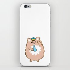 Animal Police - Pomeranian iPhone & iPod Skin