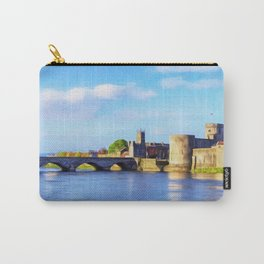King Johns Castle and Thomond Bridge Carry-All Pouch