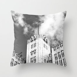 Pacific Telephone and Telegraph Building, San Francisco Throw Pillow
