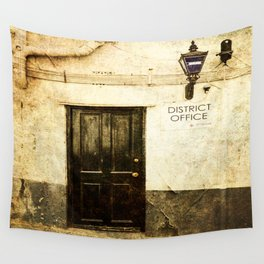 Gibraltar, district police office Wall Tapestry