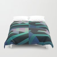 sydney Duvet Covers featuring Sydney by Ghostweight