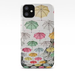 Ireland Dublin | Colorful street photography | Umbrella's iPhone Case