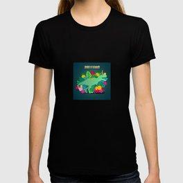 Dinos in Summer T-shirt