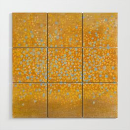 Landscape Dots - Breath Wood Wall Art