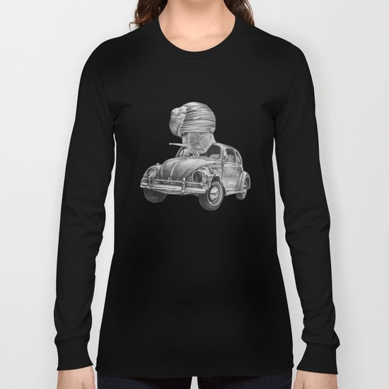 In which a snail accosts a beetle Long Sleeve T-shirt