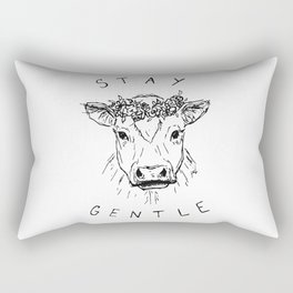 STAY GENTLE Rectangular Pillow
