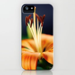 Flower Lily iPhone Case