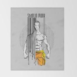 shaolin monk Throw Blanket