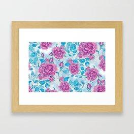 Evening Rose Framed Art Print